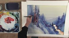 Stephen Quiller's Painting Workshop: Atmosphere & Light in Watercolor