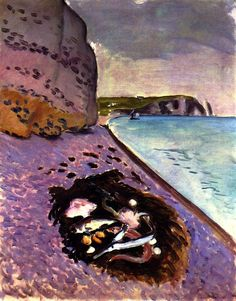 Large Cliff/ Fish Henri Matisse - 1920