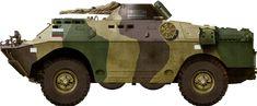 Bulgarian BRDM-2, nowadays
