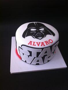 Tarta Darth Vader, Star Wars elaborada por TheCakeProject en Madrid