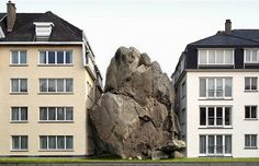 Belgian Photographer Filip Dujardin -- creates realistic structures that have no place in the real world