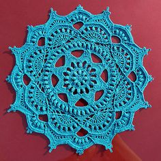 Hook size- 0, 1.75 mm Doilies, Crochet, Pattern, Crafts, Manualidades, Patterns, Ganchillo, Handmade Crafts, Crocheting