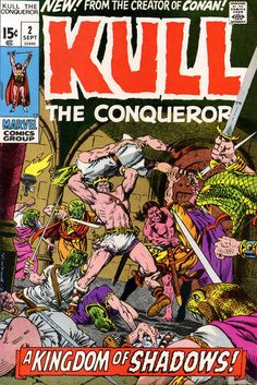 Cover for Kull the Conqueror (Marvel, 1971 series) #2