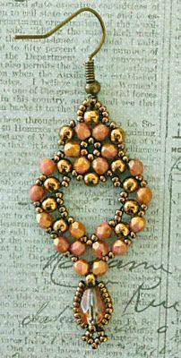 Linda's Crafty Inspirations: Princess Earrings 5/4/15