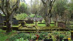 14 cimetières fascinants a travers le monde : le cimetière Hólavallagarður à Reykjavík. Crédit Photo Un pied dans les nuages