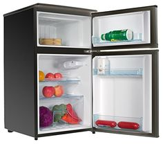 Special Offers - Conbridge CBBCD-96BOA 3.0 Cu.Ft. Compact 2-Doors Refrigerator & Freezer Black - In stock & Free Shipping. You can save more money! Check It (June 03 2016 at 07:58AM) >> http://dripcoffeemakerusa.net/conbridge-cbbcd-96boa-3-0-cu-ft-compact-2-doors-refrigerator-freezer-black/