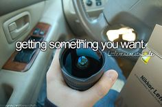Getting something you want