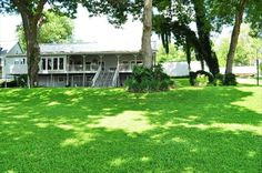 New Braunfels Vacation Rental - VRBO 394023 - 4 BR Hill Country House in TX, 180 Feet Lush Waterfront Along the Guadalupe River with 2 Docks...