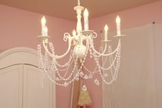 make your own chandelier