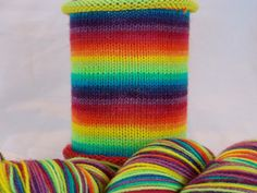 the full monty hand dyed gradient self striping sock yarn sw merinonylon - Coloring Book Yarns