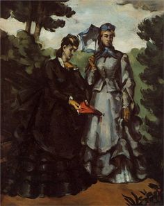 Promenade - by Paul Cezanne