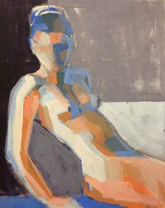 "Figure Study XLVII16""x20""  by Teil Duncan"