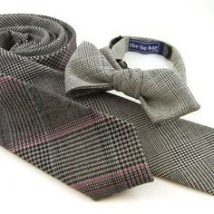 A new look, wearing wool suiting ties. Available now at www.TheTieBar.com