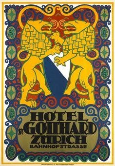 Vintage posters – Switzerland – Galerie 1 2 3