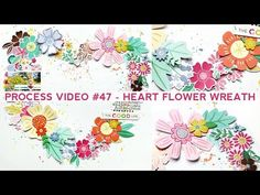 Flowers flowers and more flowers! Watch and see how this layout came together featuring fussy cut, die cut, chipboard, and puffy sticker flowers! Blog: http:...