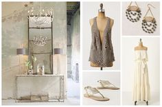 Fashion Meets Decor: Rustic Romance