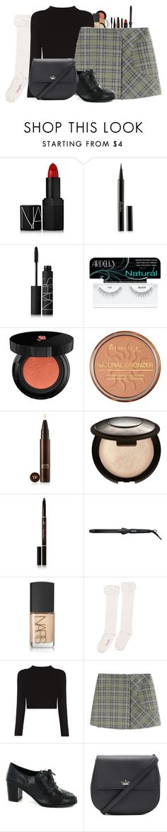 """""""Style"""" by cheyleexox ❤ liked on Polyvore featuring NARS Cosmetics, Guerlain, Ardell, Lancôme, Rimmel, Tom Ford, Becca, Anastasia Beverly Hills, Bio Ionic and Wrangler"""