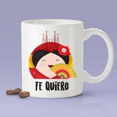 Te Quiero - Spanish Lover Mug [Gift Idea - Makes A Fun Present] I Love You