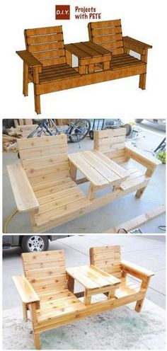 Pleasant 8 Delightful Home Diy Images Balcony Wood Projects Lamtechconsult Wood Chair Design Ideas Lamtechconsultcom