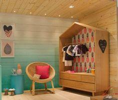 quarto de bebê menina – morarmais Rio 2015 Baby Bedroom, Baby Room Decor, Girls Bedroom, Kids Store, Kid Spaces, Kids Decor, Store Design, Home Decor Accessories, Kids Furniture