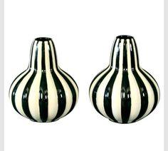 German Art Ceramic Vases