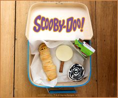 There's no mystery what makes these Scooby-Doo lunchbox ideas super delicious (hint: mummy dogs, puppy chow, fruit-flavored snacks and so much more)! Find the ingredients here: http://bit.ly/LunchesPin