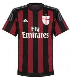 AC Milan Home Jersey Shirt Replica 2015-2016 Italy Series A – Nice Day Sports