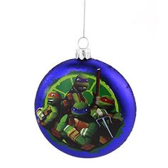 TMNT Ninja Turtles Kurt Adler Glass Ornament Nickelodeon http://www.amazon.com/dp/B00M9GPDA0/ref=cm_sw_r_pi_dp_RlH9tb1S8EK54