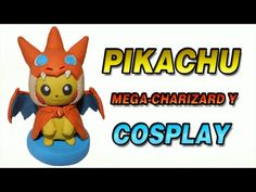 Pokemon Pikachu Mega Charizard Cosplay Polymer Clay Tutorial