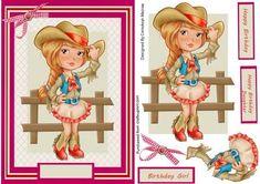 Lovely Prairie Girl  on Craftsuprint - Add To Basket!