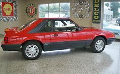 1984 Mustang GT/ my first car was a 84 mustang..