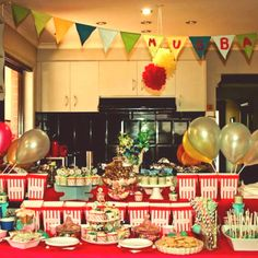 My circus themed babyshower for my sister in law :))