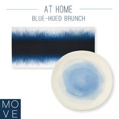 Dreamy blue-hued brunch accessories will make any dish cooler. Working Woman, Brunch, Dish, Entertaining, How To Make, Blue, Accessories, Plates, Plate