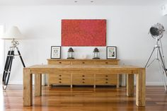 Collections By Kate - Reclaimed Parquetry 2.5m Dining Table