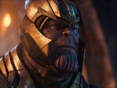 Thanos (Josh Brolin) in The Avengers: Infinity War Part 1 Asgardian's spaceship Marvel Art, Marvel Dc Comics, Marvel Heroes, Captain Marvel, The Avengers, Thanos Avengers, Vision Avengers, Marvel Villains, Marvel Characters