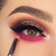 Cut Crease Videos Eye Makeup Eyeshadow Looks Step By Step crease cut eye Makeup videos Smokey Eye Makeup Tutorial, Eye Makeup Steps, Makeup Eye Looks, Beautiful Eye Makeup, Eye Makeup Art, Eyeshadow Makeup, Eyeshadow Palette, Natural Eyeshadow, Eyeshadows