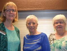 Photo courtesy of Cheryl and Jerry Sanchez of Redding.  Left to right: Lynn Smith, Ruth Plato and Carol Skill attend the Newcomers Club Fashion Show on April 27 at Win-River Resort and Casino in Redding. Go to www.redding.com for more Scene! photos.