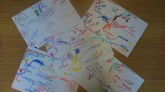 Marista castilla @CastillaMarista Aplicamos mapas mentales para trabajar los sustantivos, en 3° de Primaria #compostelaenruta #palenciaenruta