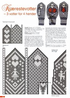 Cimdu raksti - Rokdarbu grāmatas un dažādas shēmas Knitting Charts, Knitting Stitches, Knitting Socks, Knitting Patterns, Knitted Mittens Pattern, Crochet Mittens, Knitted Gloves, Wrist Warmers, Hand Warmers