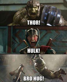 Bros  #rvrsuperheroes #hulk #thor #marvel #thorragnarok