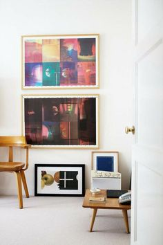 Modern Color | Rue; a-do you like one big pic or them in separate frames?