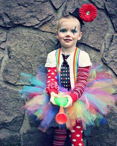Tutu clown costume I KNOW THIS GIRL!!!! :)