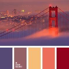 amarillo pálido y turquesa, amarillo y anaranjado, amarillo y lila, amarillo y rojo, anaranjado fuerte y amarillo, anaranjado y amarillo, anaranjado y lila, anaranjado y rojo, anaranjado y violeta, color de la ciudad, colores de la ciudad, colores de la ciudad nocturna, colores de la puesta del sol en una