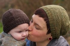 Barley Hat by Tin Can Knits Free pattern US 6 and US 8 Needles Child and Adult Sizes