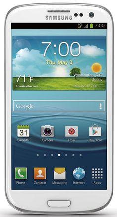 Samsung Galaxy S III, White 16GB (Sprint) - http://www.mikesmegamall.com/electronics/samsung-galaxy-s-iii-white-16gb-sprint/