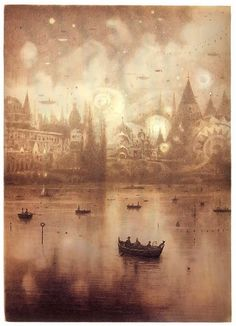 from The Arrival by Shaun Tan