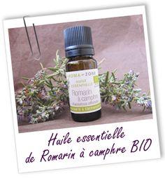 Cette huile essentielle de Romarin à camphre BIO est préconisée en cas de crampes ou courbatures, et pour préparer les muscles à l'effort. Elle s'utilise aussi en massage pour soulager les troubles circulatoires et les rhumatismes.