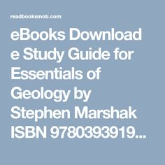 Study guide for clarksoncrossmillers business law text and cases ebooks download e study guide for essentials of geology by stephen marshak isbn 9780393919394 pdf fandeluxe Images