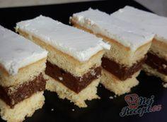 Nepečené 3BIT řezy | NejRecept.cz Tiramisu, Cheesecake, Ethnic Recipes, Food, Sheet Cakes, Bakken, Cheesecakes, Essen, Meals