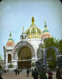 PALACE OF METALLURGY & MINES, PARIS EXPOSITION 1900